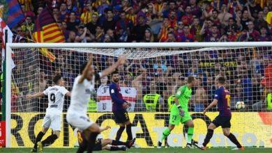 صورة برشلونة يواصل السقوط ويخسر بطولة نهائي كأس الملك أمام فالنسيا