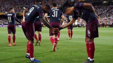 أرسنال يسحق فالنسيا برباعية ويتأهل لنهائي الدوري الأوروبي