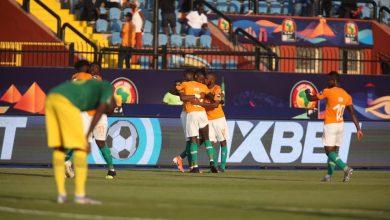 صورة ملخص وأهداف مباراة كوت ديفوار وجنوب أفريقيا في أمم أفريقيا