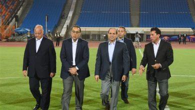 صورة الرئيس السيسي يتابع الترتيبات النهائية لانطلاق بطولة كأس الأمم الإفريقية