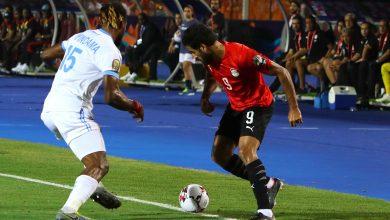 صورة ملخص وأهداف مباراة مصر والكونغو الديمقراطية في أمم افريقيا