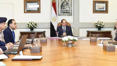 صورة الرئيس السيسي يوجه بمواصلة البحث والتوسع في مناطق الاستكشافات البترولية الجديدة