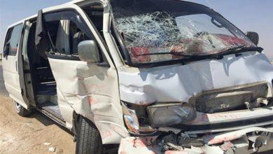 صورة أسماء المصابين في حادث تصادم ميكروباص الجيزة