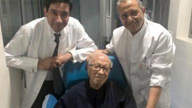 صورة وفاة رئيس تونس الباجي قايد السبسي في المستشفى العسكري بتونس