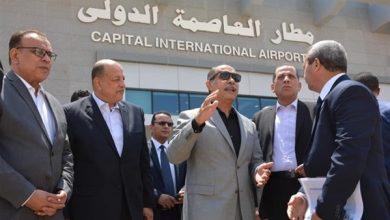 صورة غدا..بدء التشغيل التجريبي لمطار العاصمة الإدارية الجديد
