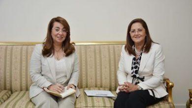 صورة وزيرتا التضامن الاجتماعي والتخطيط تعقدان اجتماعًا تنسيقيًا استعدادًا لإطلاق برنامج مبادرة حياة كريمة