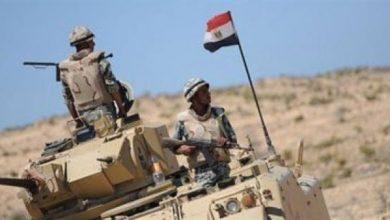 صورة إحباط هجوم انتحاري على أحد الارتكازات الأمنية بشمال سيناء