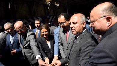 صورة رئيس الوزراء يشهد دخول ماكينة الحفر العميق لمحطة مترو جمال عبدالناصر