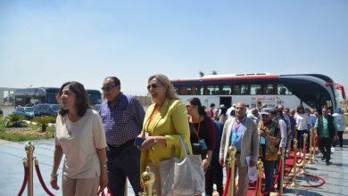صورة خلال زيارتهم لمدينة الجلالة… تخصيص منتجع للمصريين بالخارج بناءا على طلبهم