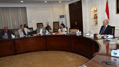 صورة وزير الإسكان يلتقى مسئولى برنامج الأمم المتحدة للمستوطنات البشرية