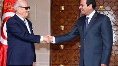 صورة السيسي ناعيا السبسي: مسيرته في تطوير تونس سيسجلها التاريخ