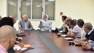 صورة وزيرة الصحة : فتح 142 ألف ملف طبي وإجراء 367 عملية جراحية ضمن التأمين الصحي ببورسعيد