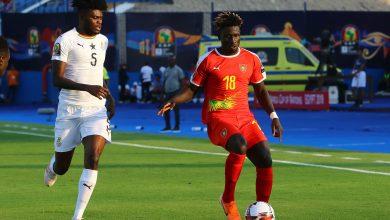 صورة ملخص وأهداف مباراة غانا وغينيا بيساو في كأس الأمم الأفريقية
