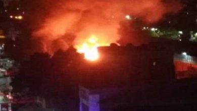 صورة الحماية المدنية تكشف سبب حريق كنيسة الأنبا بولا بحدائق القبة