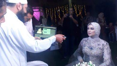 صورة بالصور .. بورسعيد تشهد أول حالتي زواج بالمأذون الإليكتروني لمسلم ومسيحي