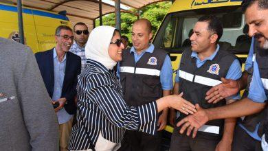صورة وزيرة الصحة : جميع خطوط طوارئ الوزارة تعمل على مدار الساعة للاستجابة للاستغاثات والحالات الطارئة