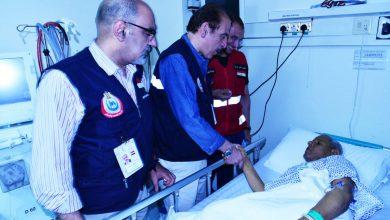 """صورة الصحة: عيادات البعثة الطبية للحج """"بمكة"""" و""""المدينة"""" إستقبلت 21793 حاجاً مصرياً"""