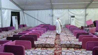 صورة الجمعة تصعيد ضيوف الرحمن من حجيج الجمعيات الاهلية الى عرفات