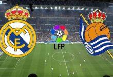 مشاهدة مباراة ريال مدريد و ريال سوسييداد بث مباشر اليوم في الليجا الإسبانية