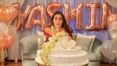 صورة بسبب صور عيد ميلادها..ياسمين صبرى تتعرض لحملة من السخرية