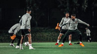 صورة حسين الشحات يسجل أولى أهداف الاهلي أمام الدحيل في كأس العالم للأندية