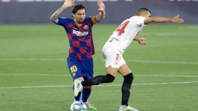 صورة القنوات المفتوحة الناقلة لمباراة برشلونة وإشبيلية في الدوري الإسباني اليوم