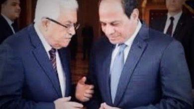 صورة اتصال هاتفي بين السيسي والرئيس الفلسطيني.. ما القصة؟