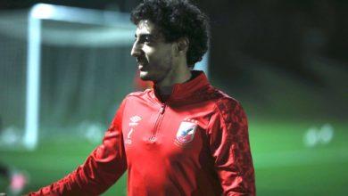 صورة محمد هاني يكشف موعد عودته للتدربيات ويؤكد: الاهلي يدرس الدحيل القطري جيدا
