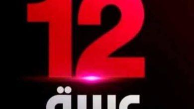 """صورة تردد قناة """"12arabia"""" الجديد على النايل سات"""