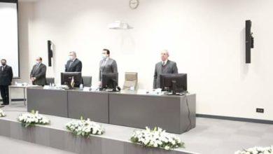 صورة في اجتماع اليوم..وزير التعليم العالي يؤكد: استعداد الجامعات الأهلية  والخاصة لاستئناف الدراسة وعقد الامتحانات
