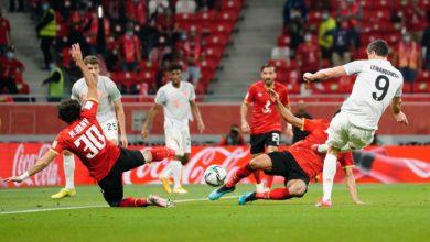 صورة 2-0 ..الأهلي يقدم أداء مشرف أمام البايرن وينافس بالميراس البرازيلي على الثالث والرابع