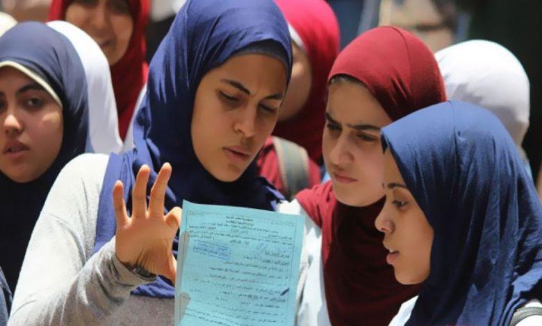 جدول امتحانات الصف الثالث الاعدادي 2021 الترم الثاني