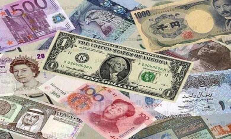 سعر الدولار واليورو اليوم وأسعار العملات الأجنبية في مصر الأحد 18-4-2021