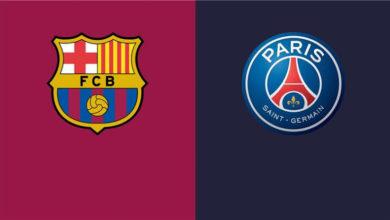 صورة موعد مباراة برشلونة الإسباني وباريس سان جيرمان الفرنسي القادمة في دوري أبطال أوروبا
