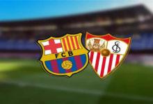 صورة موعد مباراة برشلونة وإشبيلية القادمة والقنوات الناقلة في كأس ملك أسبانيا