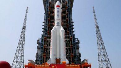 """صورة موعد سقوط صاروخ الصين..""""سي إن إن"""" تجيب"""
