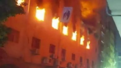 صورة حريق كنيسة مارمينا العمرانية.. نكشف التفاصيل كاملة