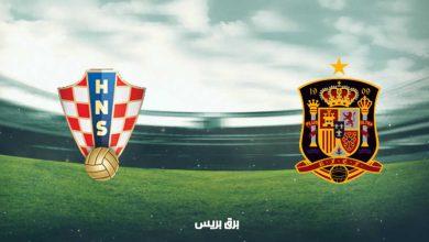 صورة موعد مباراة إسبانيا وكرواتيا اليوم والقنوات الناقلة فى بطولة أمم أوروبا