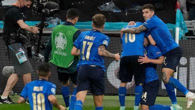 """صورة أهداف مباراة إيطاليا وإسبانيا (1-1) اليوم في بطولة أمم أوروبا """"يورو 2020"""""""