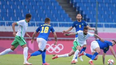 صورة أهداف مباراة السعودية والبرازيل (1-3) اليوم في أولمبياد طوكيو 2020