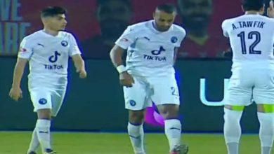 صورة أهداف مباراة بيراميدز والانتاج الحربي (2-2) اليوم في الدوري المصري الممتاز