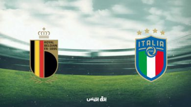 صورة موعد مباراة بلجيكا وإيطاليا القادمة والقنوات الناقلة فى بطولة أمم أوروبا
