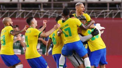 صورة أهداف مباراة البرازيل والمكسيك (4-1) اليوم فى أولمبياد طوكيو 2020