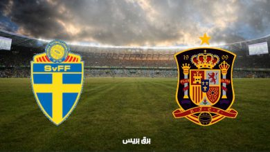 صورة القنوات المفتوحة الناقلة لمباراة إسبانيا والسويد فى تصفيات كأس العالم
