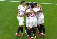 صورة أهداف مباراة إشبيلية وفالنسيا (3-1) اليوم فى الدوري الإسباني