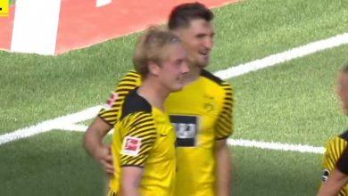 صورة أهداف مباراة بوروسيا دورتموند وباير ليفركوزن (4-3) اليوم فى الدوري الألماني