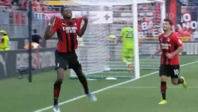 صورة أهداف مباراة ميلان ولاتسيو (2-0) اليوم فى الدوري الايطالي