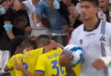 صورة أهداف مباراة يوفنتوس وسبيزيا (3-2) اليوم فى الدوري الايطالي