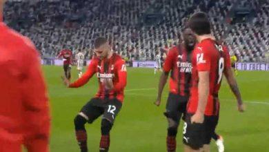 صورة أهداف مباراة يوفنتوس وميلان (1-1) اليوم فى الدوري الايطالي