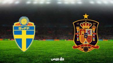 صورة نتيجة مباراة إسبانيا والسويد اليوم في تصفيات كأس العالم